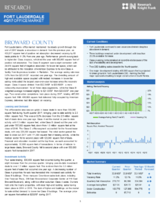 Fort Lauderdale 4Q Office Market Report