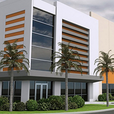 Commercial building for lease or rent Miami