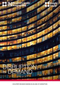 DISRUPTION = DEMAND
