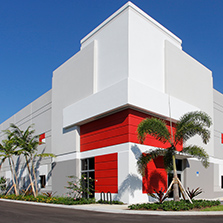 Large office space in Miami industrial warehouse