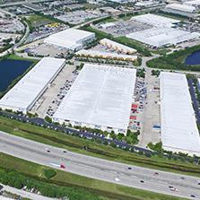Large industrial warehouse space Morgan Stanley