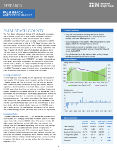 Palm Beach Industrial Real Estate Market Report 4Q17 Miami Warehouse Space