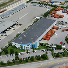 Terreno warehouse in South Florida