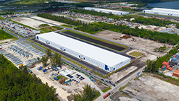 Large industrial space in Miami, Florida