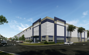 Miami warehouse space industrial building for lease
