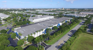 Large Industrial Park in Miami for lease