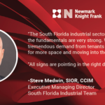 Health of Industrial Real Estate Market: Miami Warehouse Space