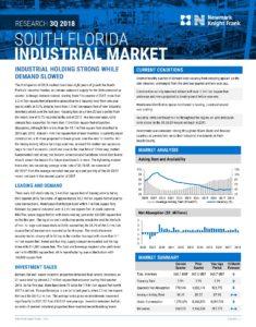 South Florida industrial market - Miami