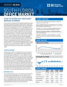 South Florida Office Market - Miami Warehouse Space